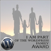 The Wordpress family award